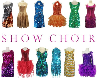 Show Choir Sequin Dresses