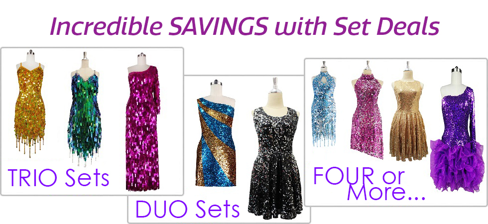 Buy Sequin Dress Sets and Save